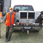 Another Day at the Office for Coach - Chukar and Pheasant